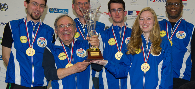 Le TNV, Champion de France des Clubs, <br>en division 2, Pistolet